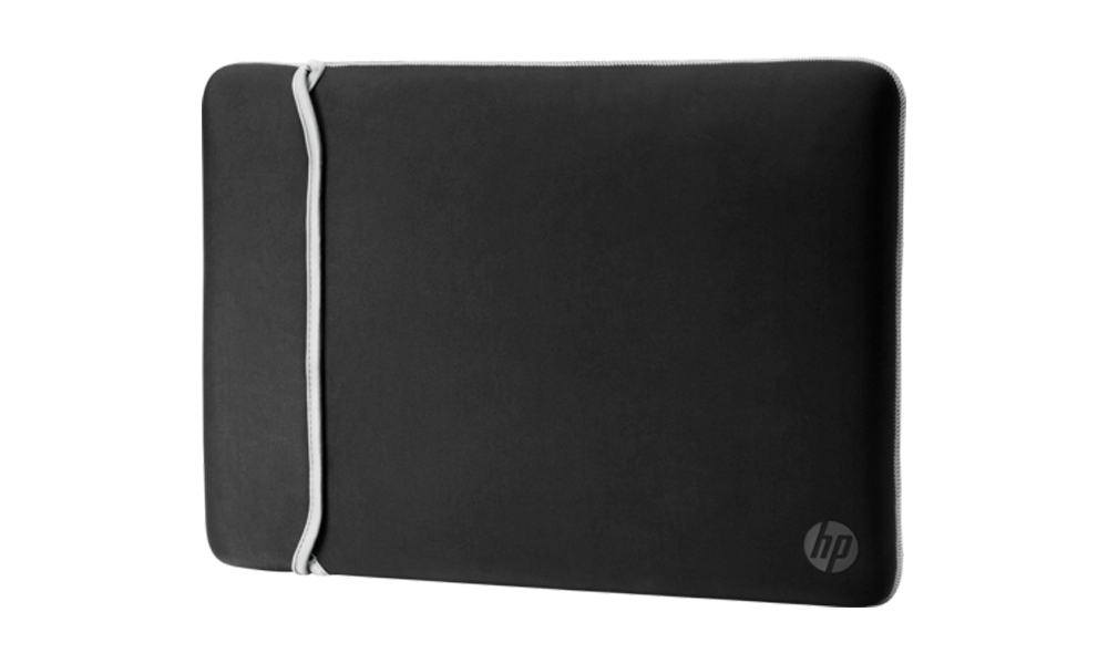 "HP 39.62 cm 15.6"" Neoprene Reversible Sleeve Black/Silver 2UF62AA"