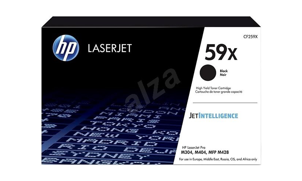 HP 59X Black LaserJet Toner Cartridge CF259X