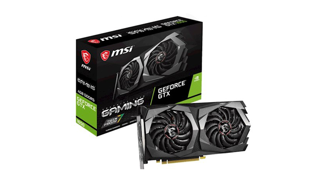 MSI GeForce GTX1650 4GB DDR5 GAMING XGF_GTX1650_GAMING_4G  (246)