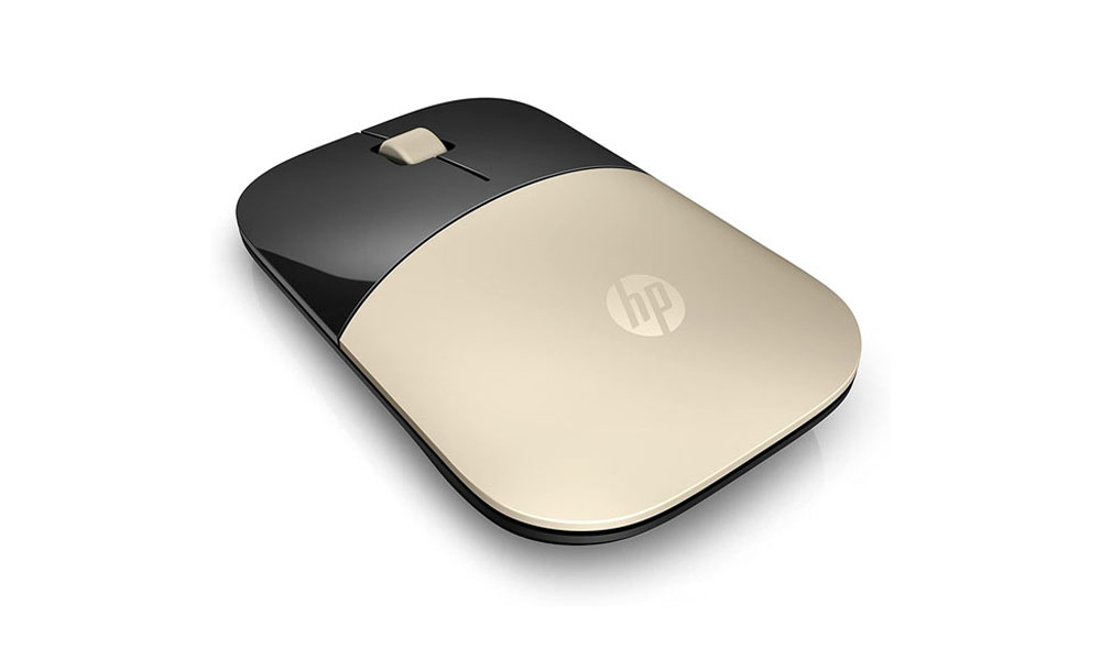 HP Z3700 Gold Wireless Mouse X7Q43AA