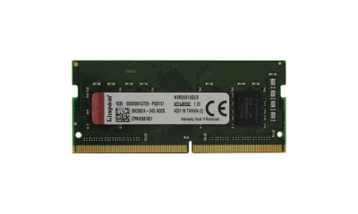 Kingston DDR4 2666 8GB SO-DIMM KVR26S19S8/8
