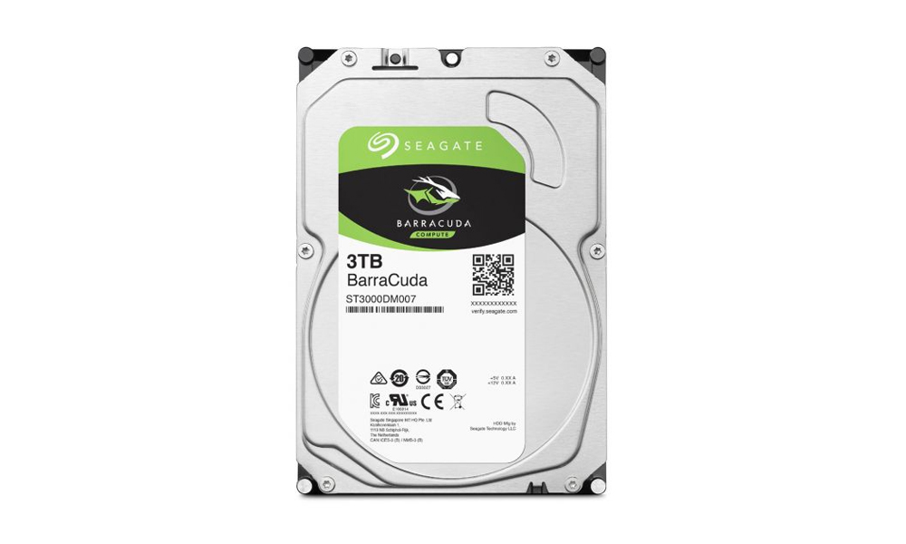 SEAGATE HDD3 3TB  Desktop Barracuda Guardian 3.5/3TB/SATA/rmp 5400 ST3000DM007