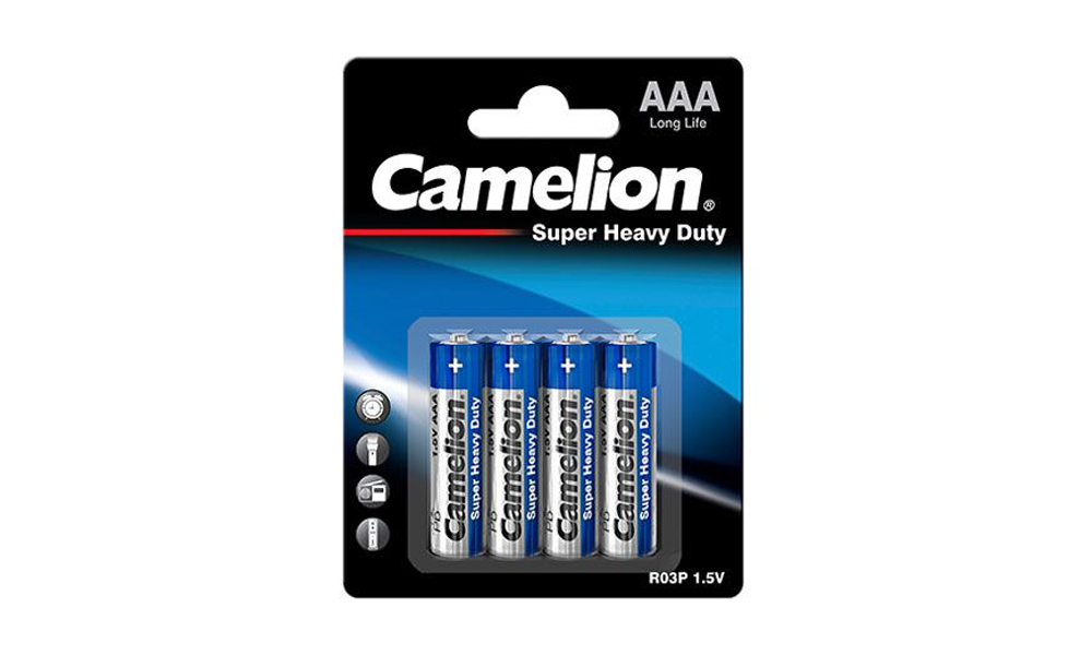 Camelion Super Heavy Duty AAA R03P-SP4B