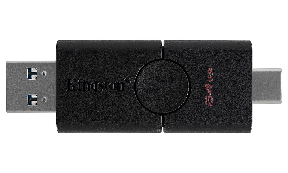 Kingston 64GB USB 3.2+Type-C DT Duo DTDE/64GB