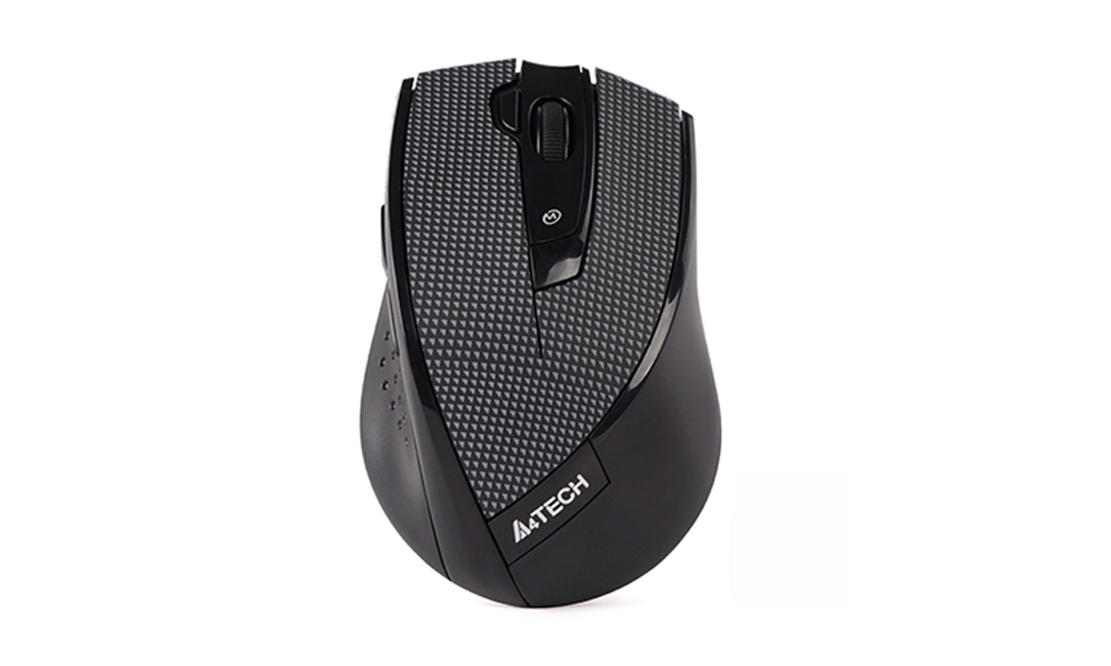 A4TECH G10-730F 5-Mode 2.4G Mouse Black Plaid