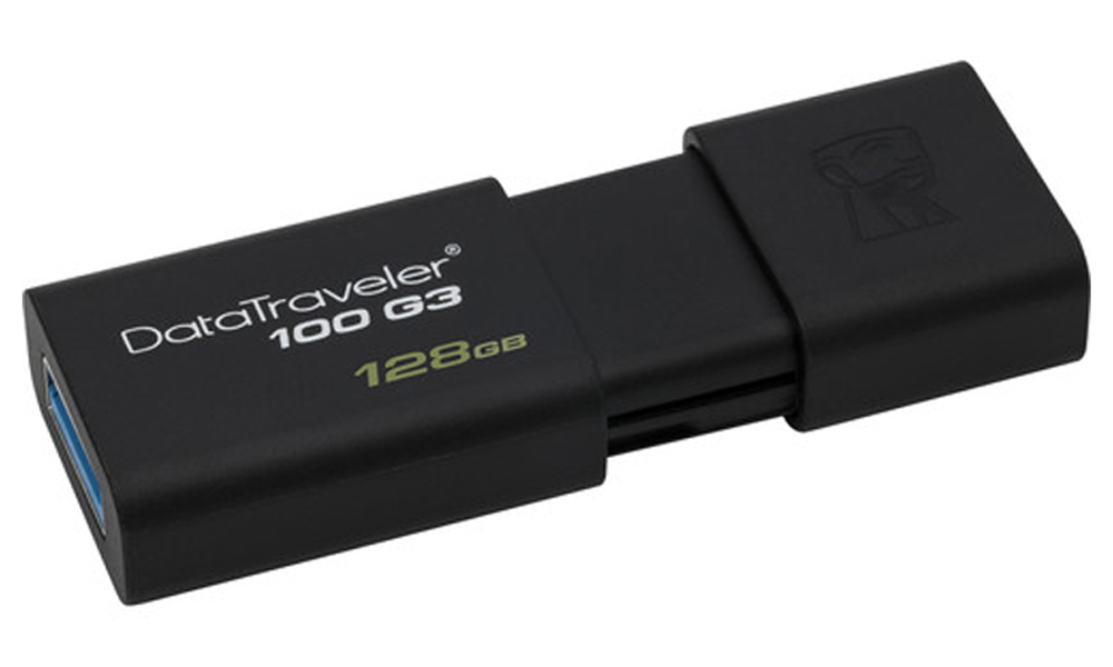 Kingston 128GB USB3.0 DataTraveler 100 G3 black DT100G3/128GB
