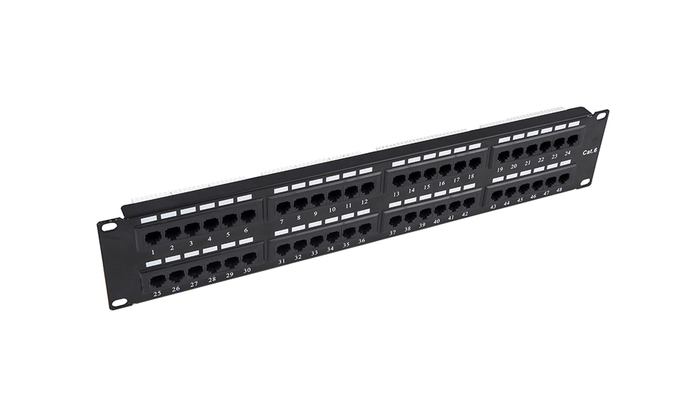 Patch Panel-48 ports UTP CAT 5E