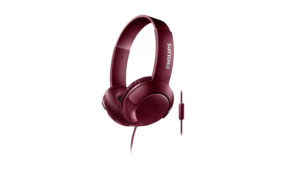 PHILIPS Earphones SHL3075RD Mic Red SHL3075RD/00