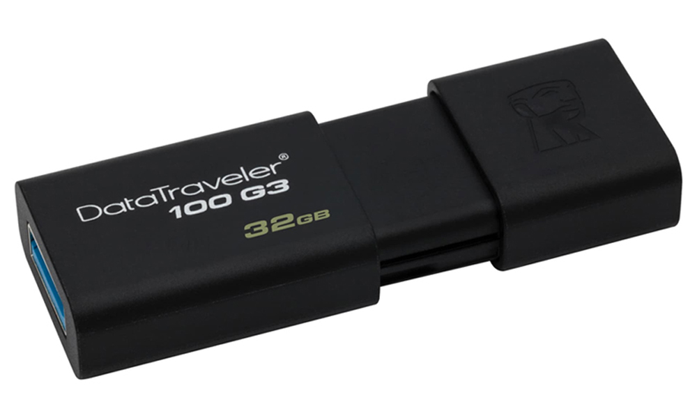 Kingston DataTraveler 100 G3 32GB USB 3.0 Black DT100G3/32GB