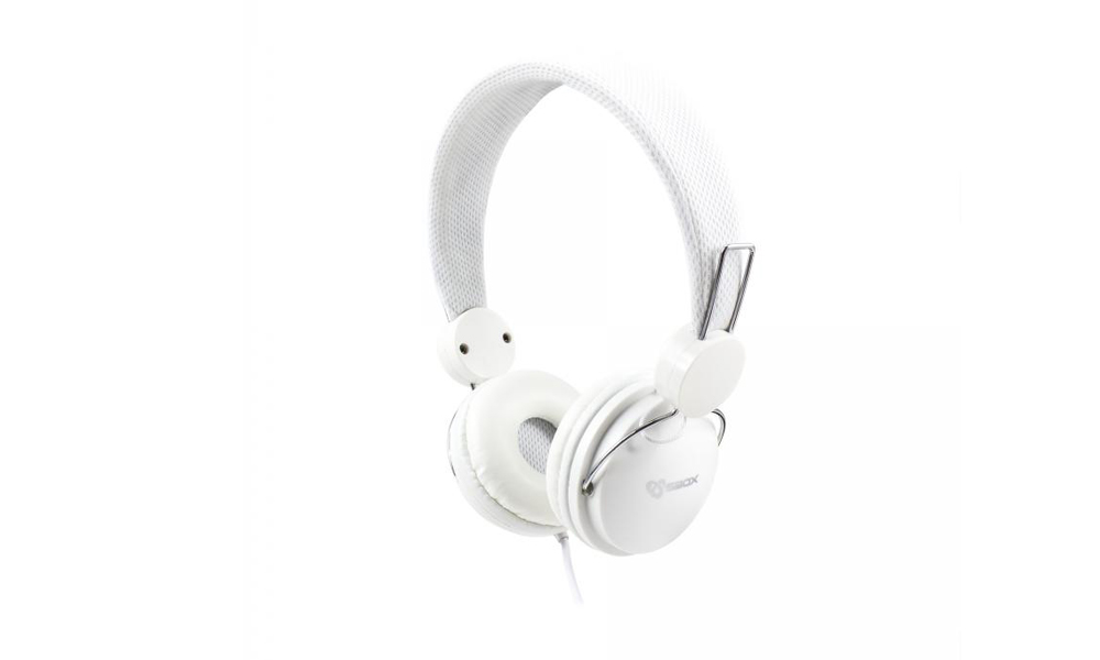 SBOX Headphone HS-736 Cable: 1,8m White