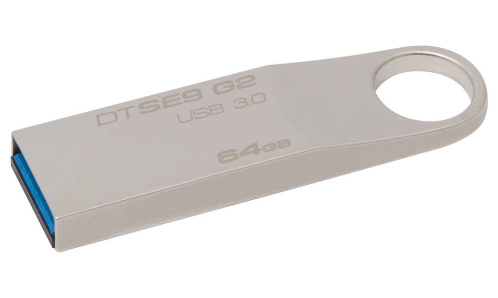 Kingston 64GB USB 3.0 DTSE9 G2 Metal Silver DTSE9G2/64GB