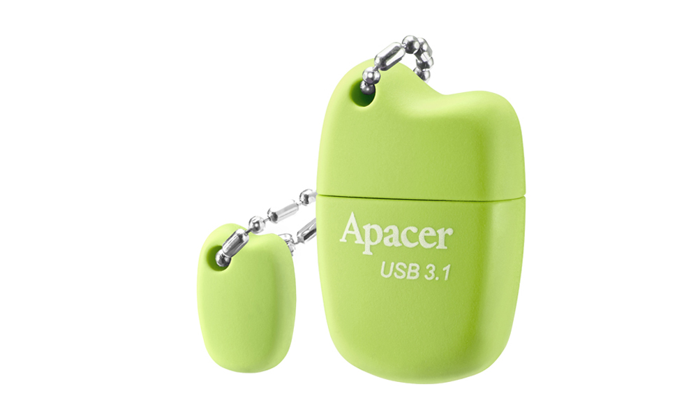 Apacer USB 3.1 Gen1 Flash Drive AH159 32GB Green AP32GAH159G-1