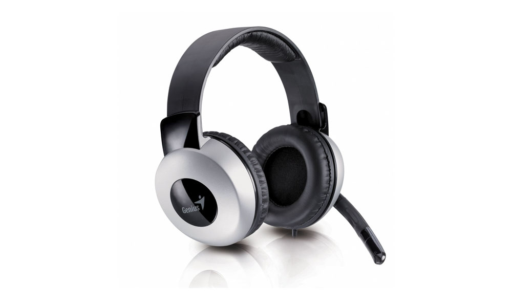 Genius HS-05A, Deluxe Full-Size Headset for Comfort