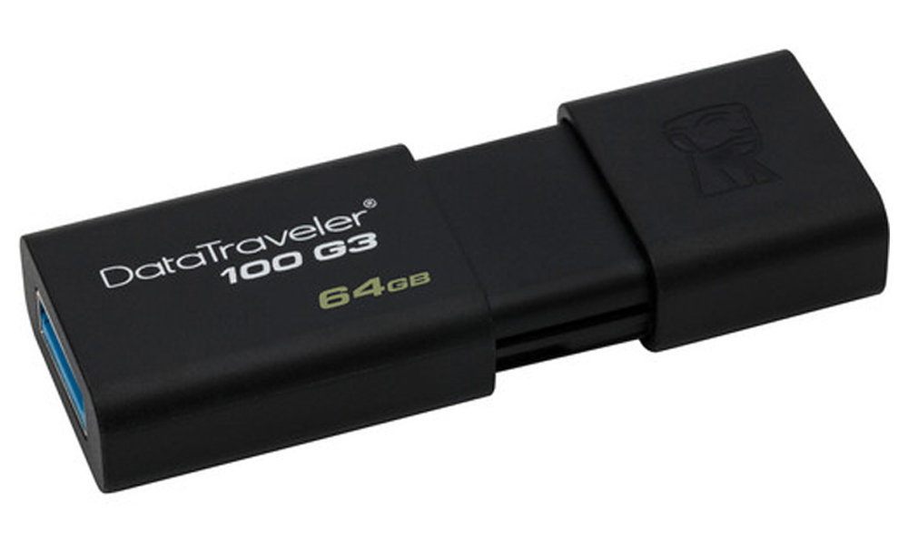 Kingston 64GB USB 3.0 DT100 G3 DT100G3/64GB