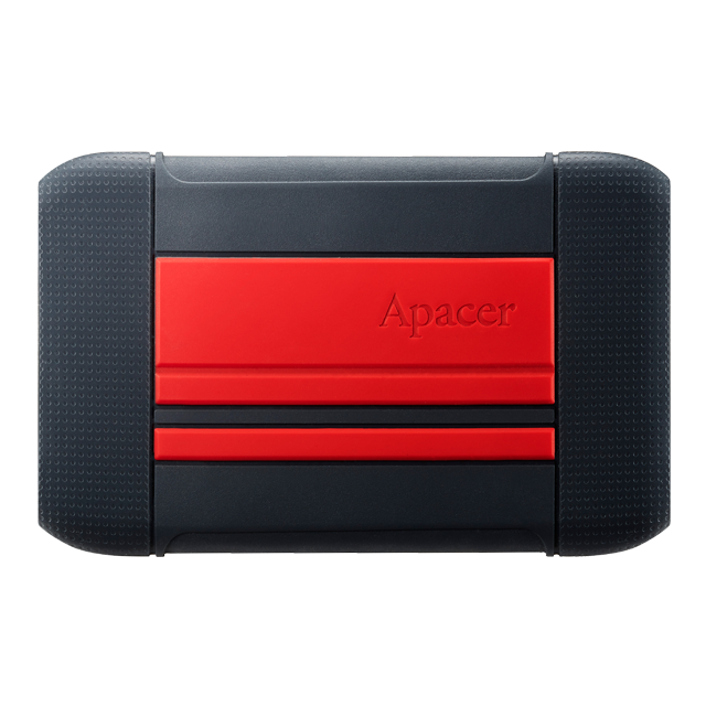 "Apacer 2.5"" USB 3.1 1TB AC633 IP55 Red AP1TBAC633R-1"
