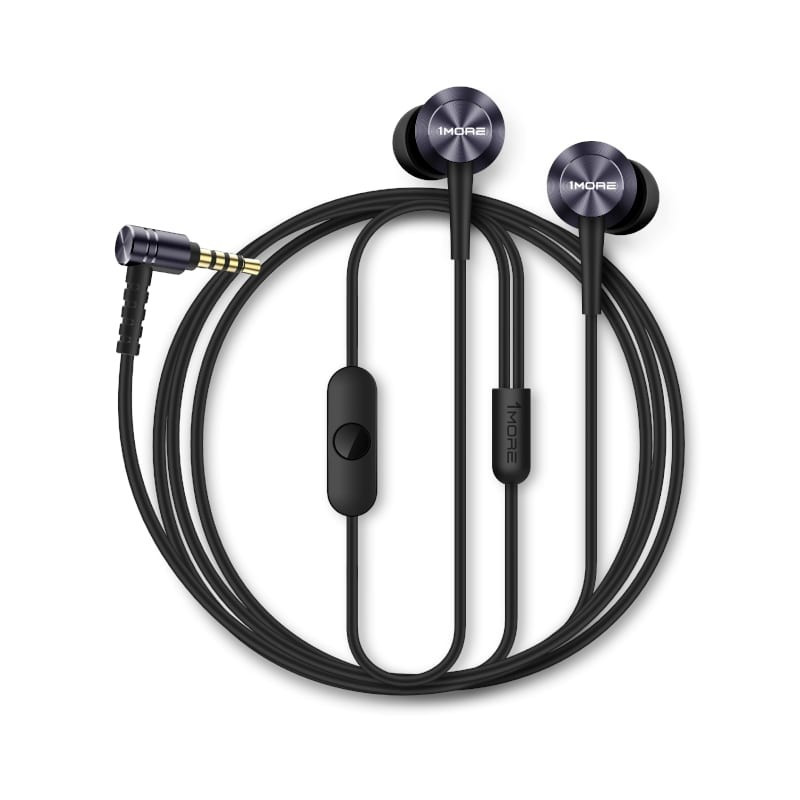 1MORE Classic E1009 Piston Fit 3.5mm In-Ear Headphones E1009-Gray