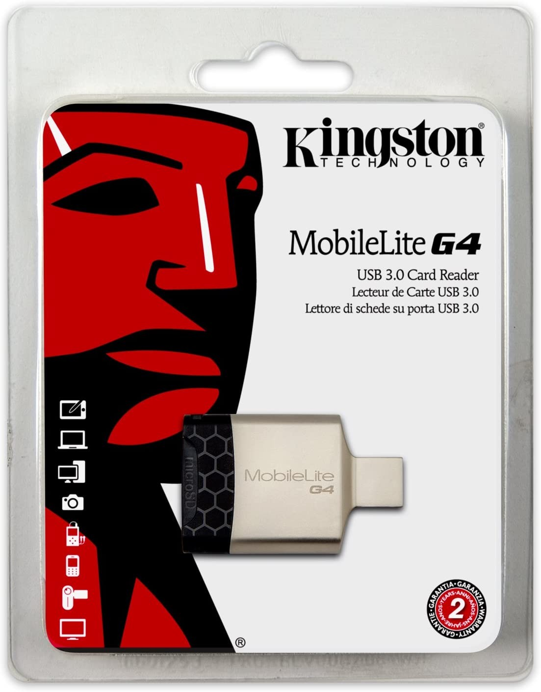 Kingston FCR-MLG4 USB 3.0 Card Reader